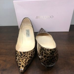 Jimmy Choo Leopard Print Heel